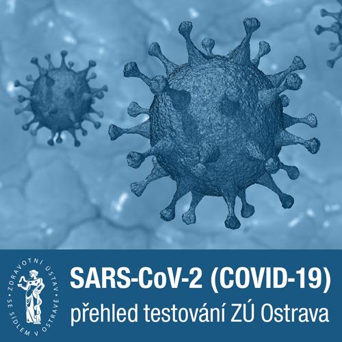 Přehled testování na přítomnost COVID-19 v laboratořích ZÚ Ostrava na území MSK