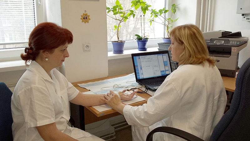 Realizace screeningového EMG
